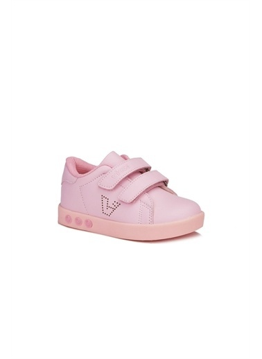 Vicco  313.E19K.100 Oyo Işıklı Kız/Erkek Çocuk Spor Ayakkabı Pembe